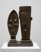 Giacometti sculptures composition